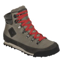 The North Face Men's Back to Berkeley Boot NL Casual Boots - Light Grey/Red