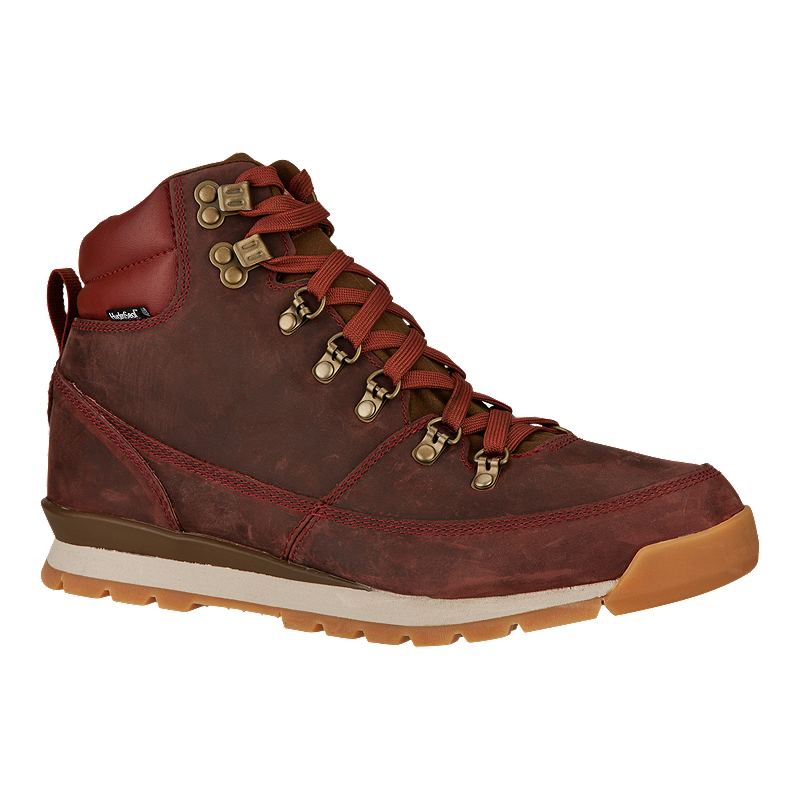Brown Hiking Shoes With Basketball Shorts On Men