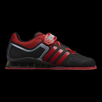 Adidas Adipower weightlift halterofilia hombres zapatos negro / rojo