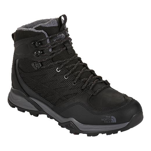39e80149d The North Face Men's Hedgehog Hike Winter WP Winter Boots - Black ...
