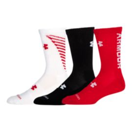 Under Armour Crew Socks-3-Pack