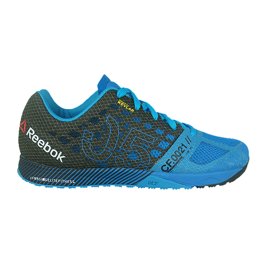 0490a0c1c0a Reebok Men's CrossFit Nano 5.0 Training Shoes - Blue/Black | Sport Chek