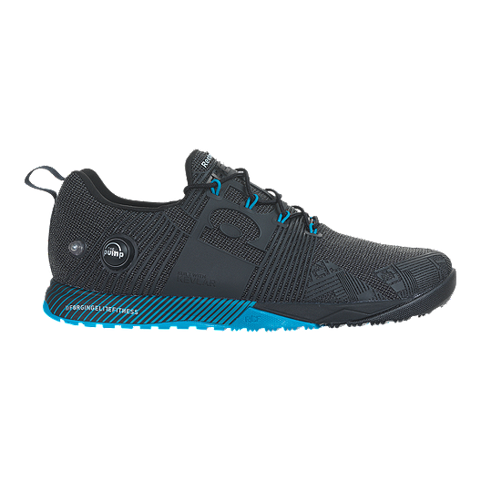 8f9fd33d8 Reebok Men s CrossFit Nano Pump Fusion Training Shoes - Black Blue ...