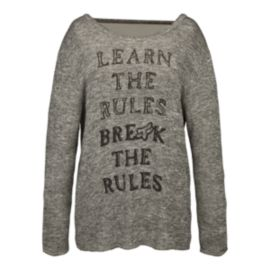 Fox Break The Rules Women's Pullover