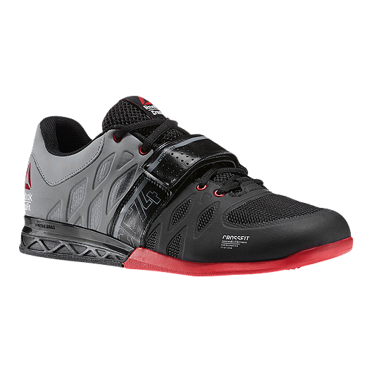 5a50a0893946 Reebok Men s CrossFit Lifter 2.0 Training Shoes - Grey Black Red ...