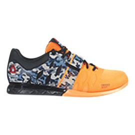 Reebok Men's CrossFit Lifter 2.0 Weightlifting Shoes - Orange/Blue Camo