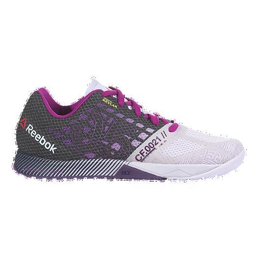 1cf91e92525f Reebok Women s CrossFit Nano 5.0 Training Shoes - Dark Grey Purple Ice Grey
