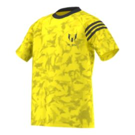adidas Messi All-Over Print Kids' Top
