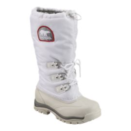 Sorel Women's Snowlion XT Winter Boots - White/Red