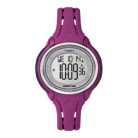 Timex Ironman Sleek 50-Lap Watch -Mid Plum