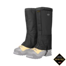 Outdoor Expedition Crocodile Gaiters - Black