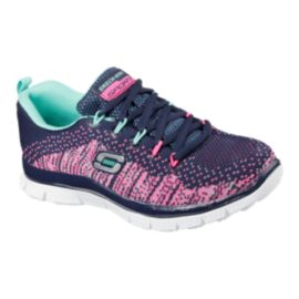 Skechers Talent Flair Knit Girls' Pre-School Casual Shoes
