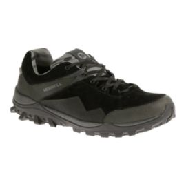 Merrell Fraxion Men's Waterproof Multi-Sport Shoes - Black/Dark Grey