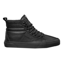 Vans Classics SK8-HI MTE Skate Shoes - Black