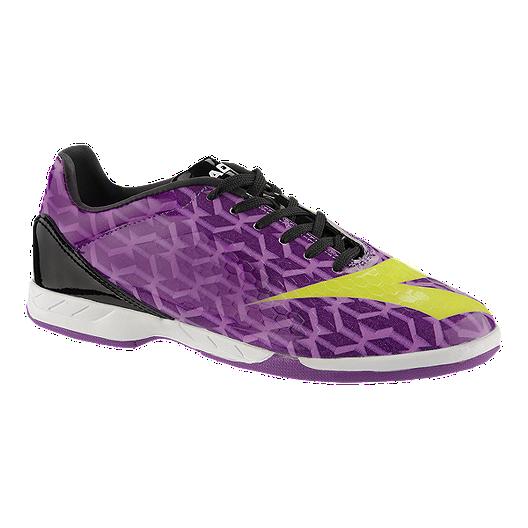c23c06dbe Diadora Girl's Libero IN Indoor Soccer Shoes - Purple/Yellow/Black   Sport  Chek