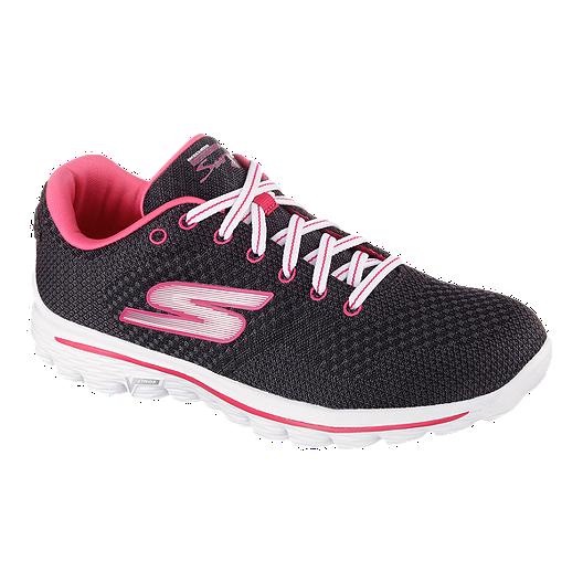 6cddaf08abbd Skechers Women s Go Walk 2 Spark Shoes - Grey Pink White