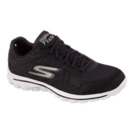 Skechers Women's Go Walk 2 Fuse Walking Shoes - Black/White