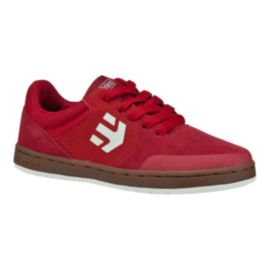 Etnies Kids' Marnana Grade School Skate Shoes - Red/Gum