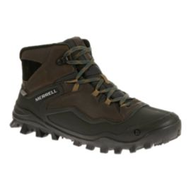 Merrell Men's Fraxion Sheel 6 WP Winter Boots - Brown/Black