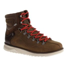 Merrell Men's Epiction Polar WP Winter Boots - Brown/Red