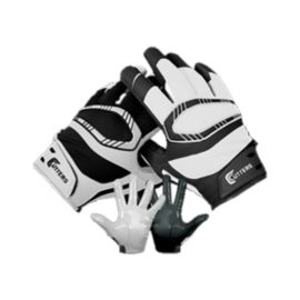 Cutters Rev Pro Yin Yang Football Glove - Black/White