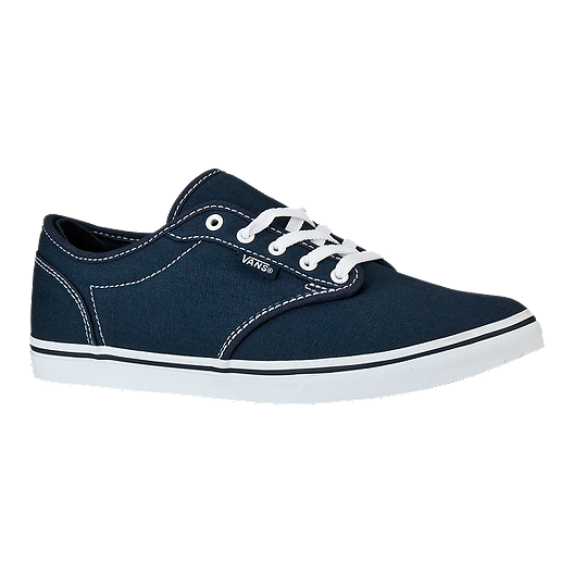 79e8187982 Vans Women s Atwood Low Skate Shoes - Navy White