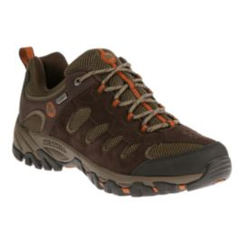 Merrell Men's Ridgepass Low WP Multi-Sport Boots - Espresso/Clay