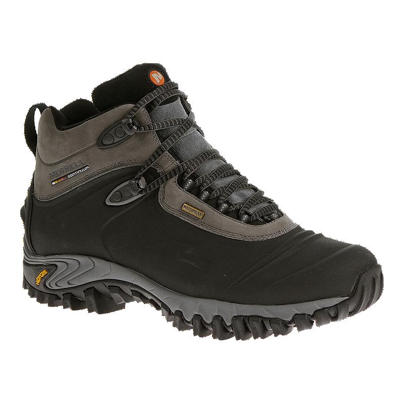 d5d4a2b0d4e Merrell Men's Thermo 6 Shell WP Winter Boots - Black/Grey