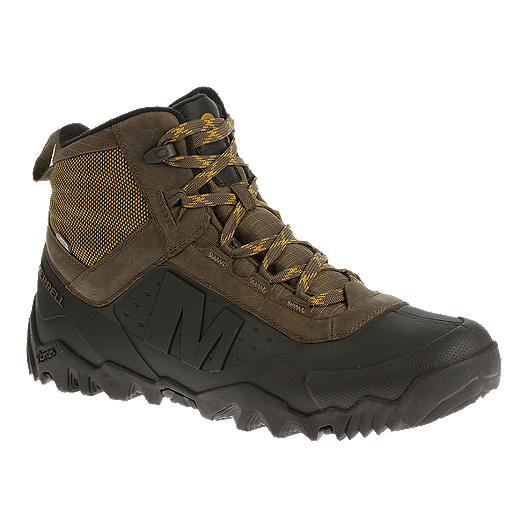 04234dfd25 Merrell Men's Annex Shell 6 WP Winter Boots - Brown/Black | Sport Chek