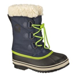 Sorel Kids' Yoot Pac Nylon Winter Boots - Nocturnal/Nuclear