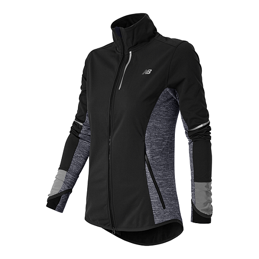 7485894a42f07 New Balance Run Women's Windblocker Jacket - 898 BOU BLACK