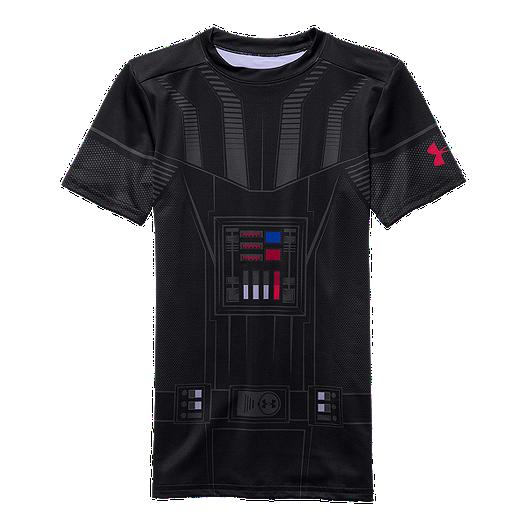 1f2e6ee5 Under Armour Star Wars Vader Kids' Compression Top | Sport Chek