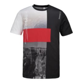 Reebok One Series Sublimated Men's Short Sleeve Top