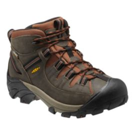 Keen Men's Targhee 2 Mid WP Lite-Hiking Shoes - Raven/Tortoise Shell