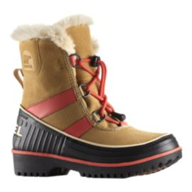 Sorel Girls' Tivoli II Winter Boots - Curry