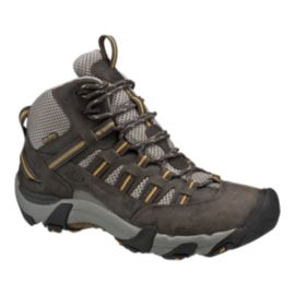 Keen Men's Alamosa Mid WP Lite-Hiking Shoes - Raven/Tawny Olive