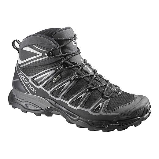 2f02b5da7d Salomon Men's X Ultra Mid 2 Spikes GTX Hiking Shoes - Black | Sport Chek