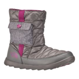 e3d2879ae71f2 The North Face Women s Thermoball Bootie Winter Boots - Grey Purple ...