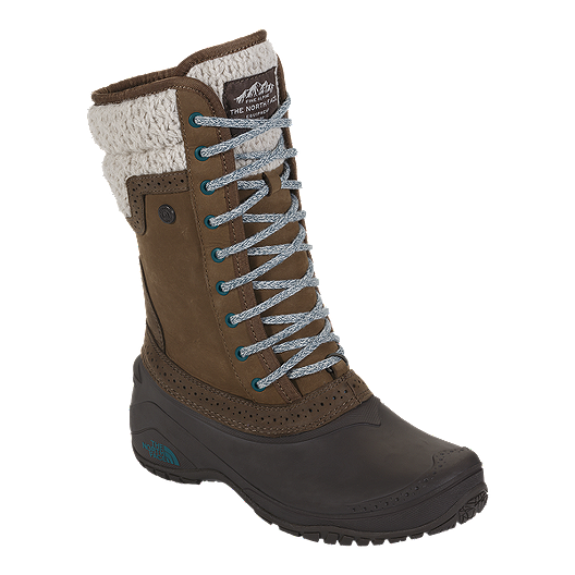 a954311d1a6d The North Face Women s Shellista II Mid Winter Boots - Brown Blue ...