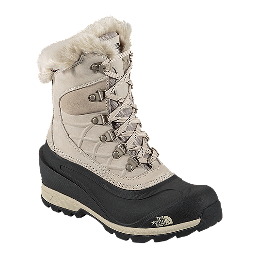 1c1c6ea4d0 The North Face Women s Chilkat 400 Winter Boots - Taupe Black ...