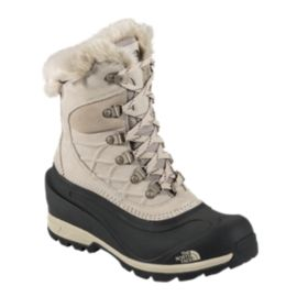 The North Face Women's Chilkat 400 Winter Boots - Taupe/Black