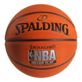 Spalding Neverflat Soft Grip Basketball - Size 7