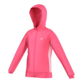 adidas Essentials Girls' Mid Full Zip Hoodie