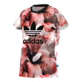 adidas Originals Junior Paris All-Over Print Girls' Tee