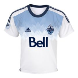 Vancouver Whitecaps Toddler Home Soccer Jersey
