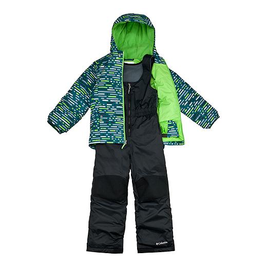 65874d958 Columbia Toddler Frosty Slope Snow Set - 314 DEEP WAVE PRINT