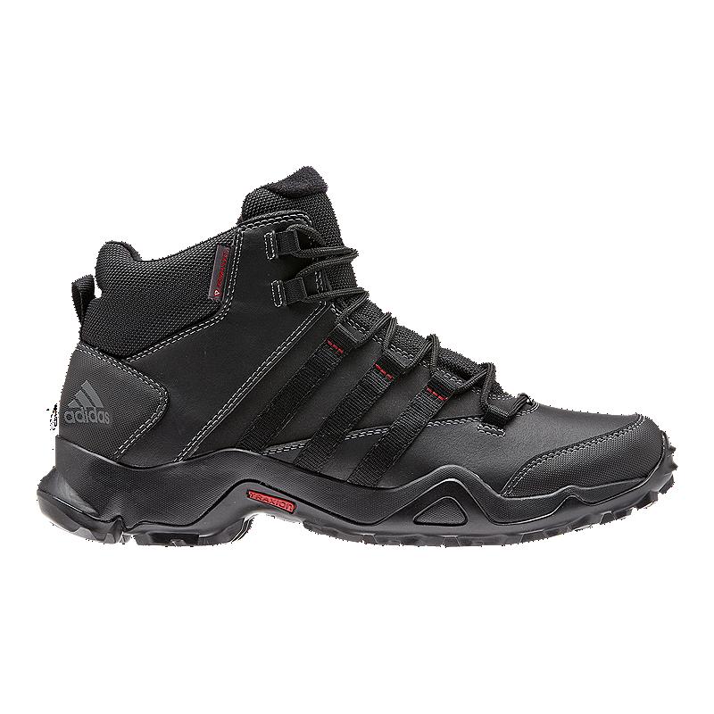 abfd3f9d4d1 adidas Men s AX2 Beta Mid PL Winter Boots - Black