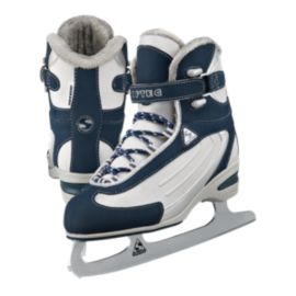 Softec Classic ST2300 Ladies Navy Figure Skates