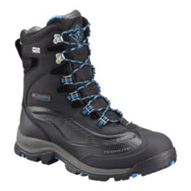 Columbia Men's Bugaboot Plus III Titanium Winter Boots - Black/Blue