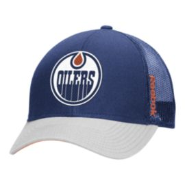 Edmonton Oilers TNT STR Adjustable Meshback Cap